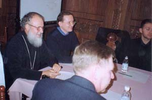 Митрополит Кирилл встретился с русскими «шанхайцами». 2002 год