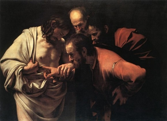 Недоверчивость святого Фомы. Караваджо