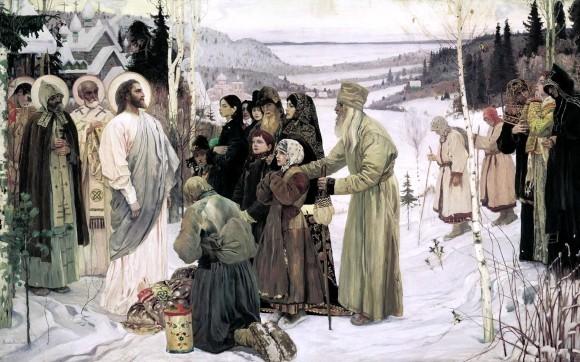 Нестеров. Святая Русь. 1905, холст, масло