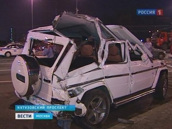 В ДТП на Кутузовском проспекте виноват священник