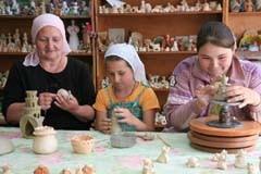 Живая глина Натальи Крушинской