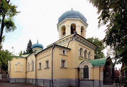 Храм святого благоверного князя Александра Невского в Тбилиси