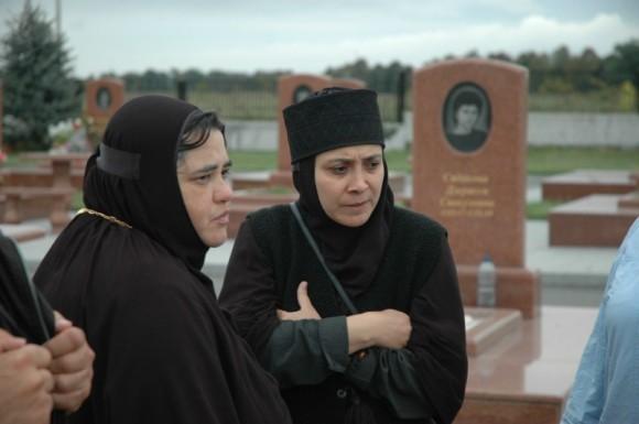 Монахини на Мемориальном кладбище