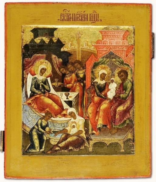 Рождество Богородицы Россия. XIX век