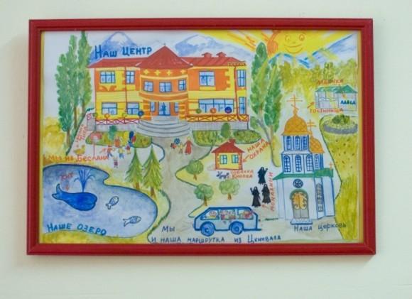 Рисунок в детском центре