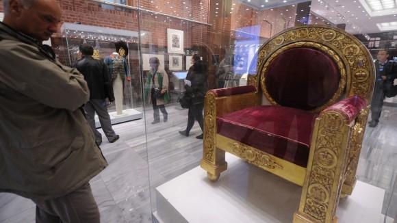 Тронное кресло императора Александра I