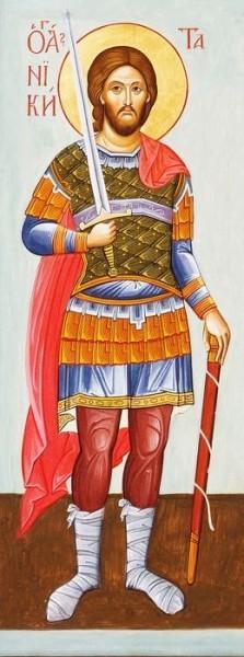 Святой великомученик Никита: икона