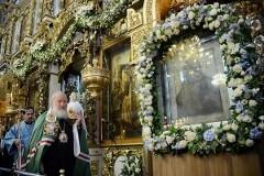Патриаршее служение в праздник Донской иконы Божией Матери + ФОТО