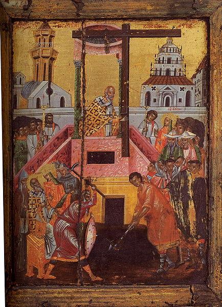 Воздвижение Креста Господня в 2017