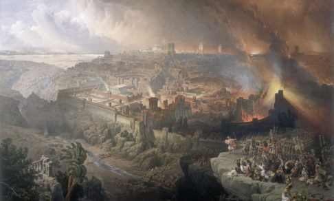 Разрушение Иерусалима - Роберти Эрколе