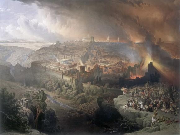 Разрушение Иерусалима – Роберти Эрколе