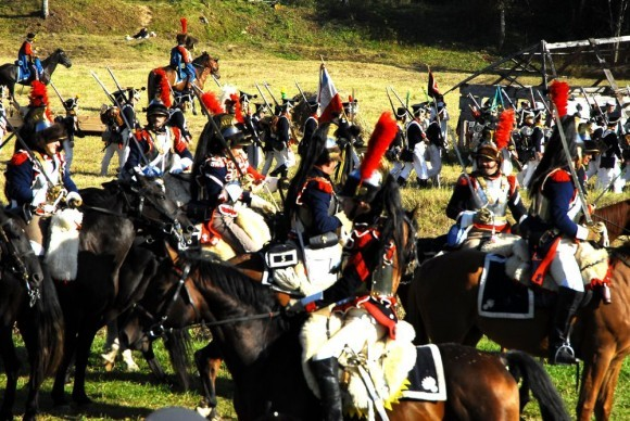 Атака французской конницы