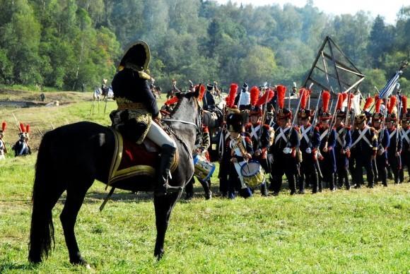 Смотр французских войск