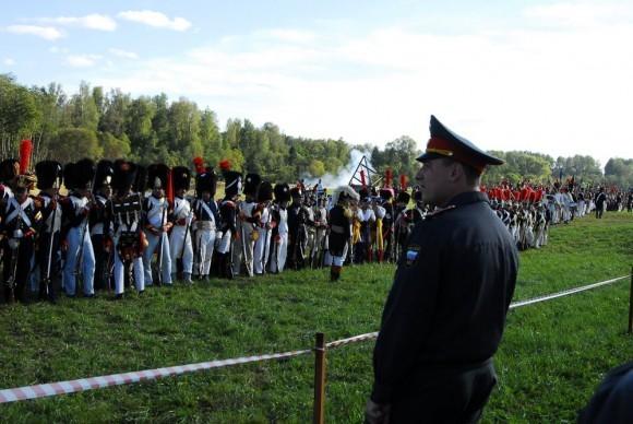 Российская полиция охраняет элиту Наполеоновской армии