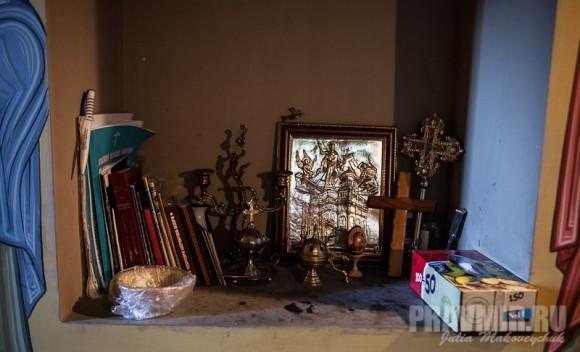 За трапезой читаются не только молитвы, но и жития святых и другая душеполезная литература