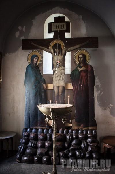 Распятие. Собор Бодбийского монастыря