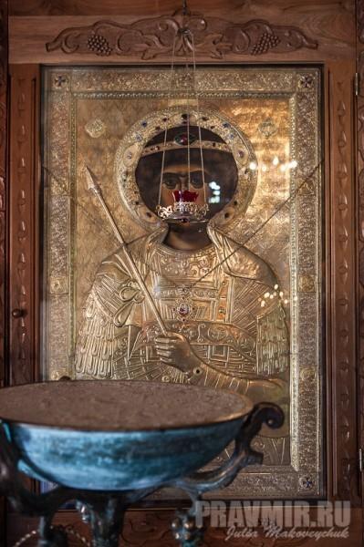 Святой великомученик Георгий. Собор Бодбийского монастыря