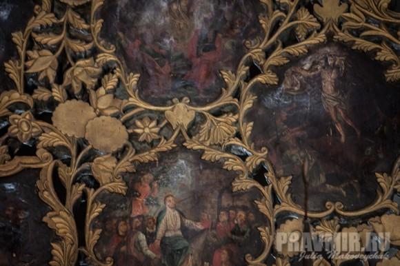 Фрагмент убранства Царских врат