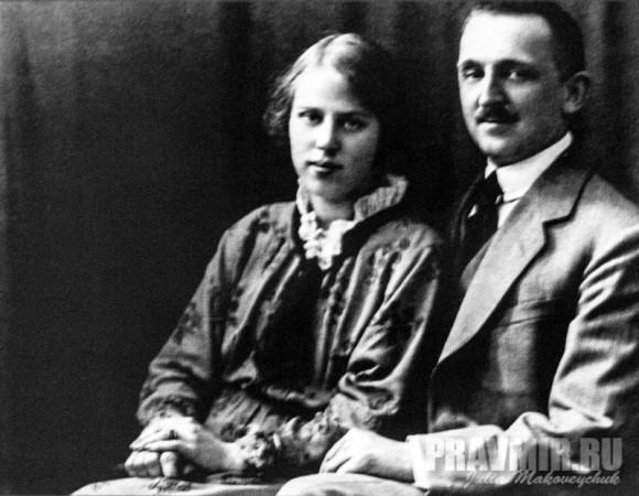 Елена Васильевна и Николай Николаевич Гениевы