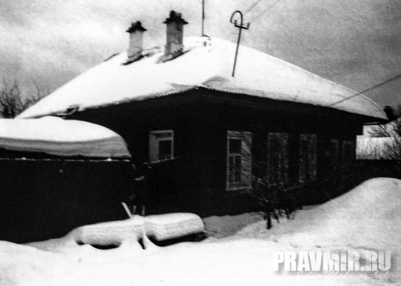 дом в Кадникове Вологодской области, где жил в ссылке отец Сергий. Современный вид.
