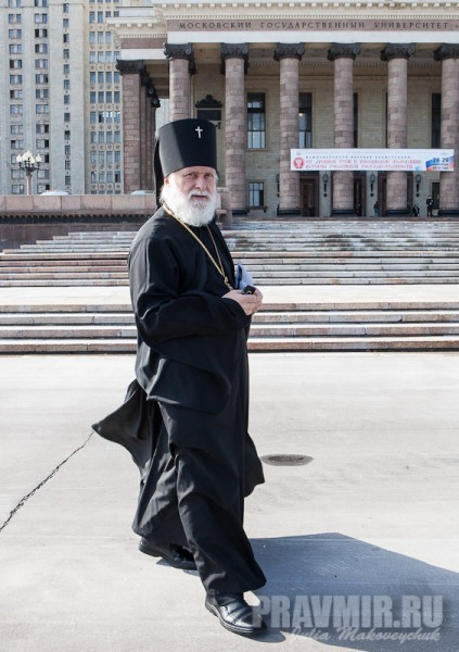 Ректор Московских духовных школ архиепископ Верейский Евгений