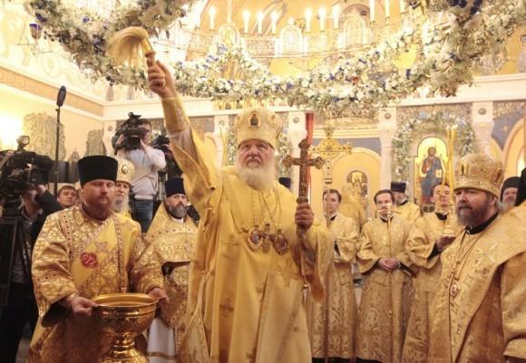 Посещение Патриархом ФНКЦ ДГОИ имени Дмитрия Рогачева. Фото: Владимир Ходаков