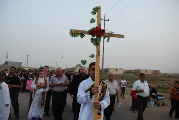 Воздвижение Креста. Сирия.