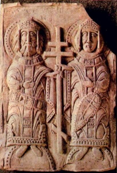 Святые равноапостольные Константин и Елена XII век, Полоцк