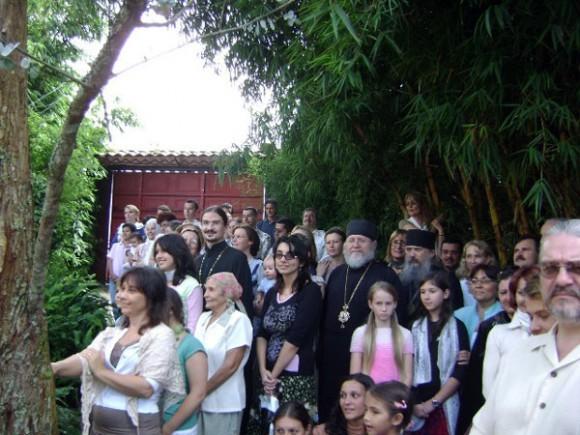 Приезд митрополита Илариона  в октябре 2008 года
