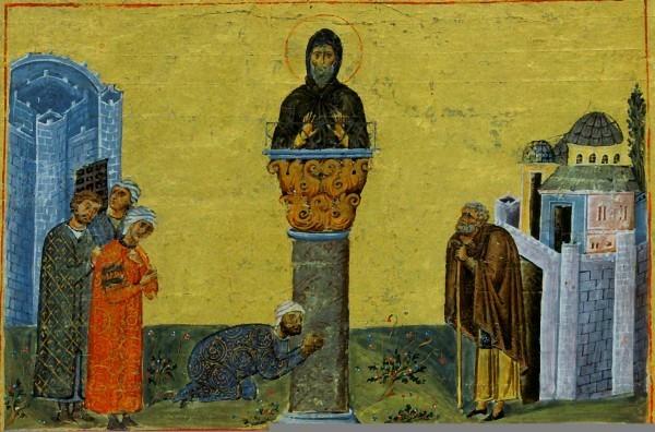 Церковь отмечает память преподобного Симеона Столпника