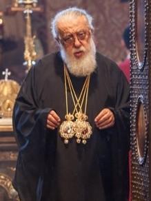 Католикос-Патриарх всея Грузии Илия II. Фото Юлии Маковейчук