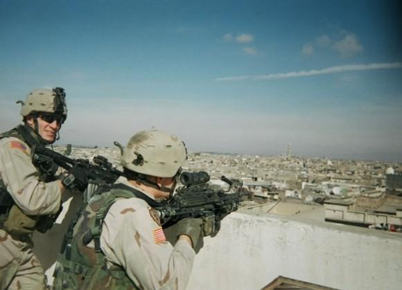 Скотт в Ираке