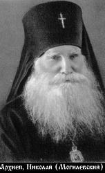 Архиепископ Николай (Могилевский). Фото: pstbi.ru