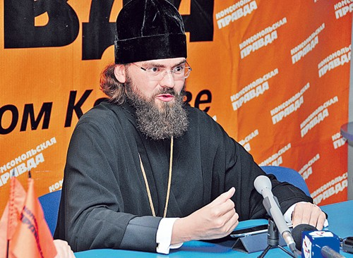 Епископ Пятигорский и Черкесский Феофилакт. Фото: Наталья ГОЛЯНОВА («КП» — Ставрополь»)