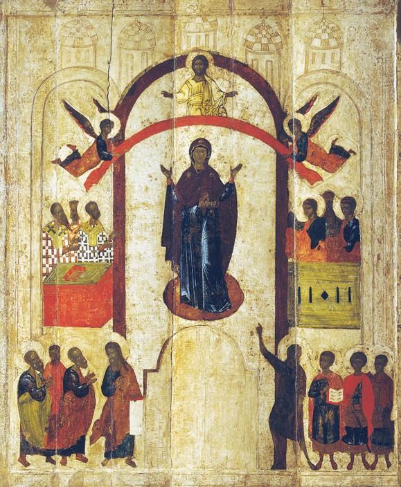 Картинки по запросу покрова пресвятой богородицы - иконография