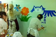 Про рисунки на стене
