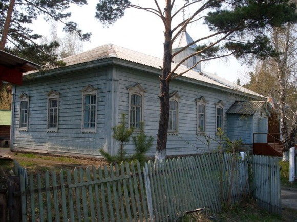 Никольская церковь села Ордынское Новосибирской области, 2009 год. Фото: Мураев Валерий, temples.ru