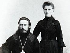 Священник Николай Ермолов с супругой. Фото из семейного архива Ермоловых, nsk.aif.ru