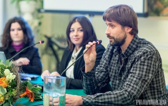 Презентацию открыл главный редактор издательства «Никея» Владимир Лучанинов.