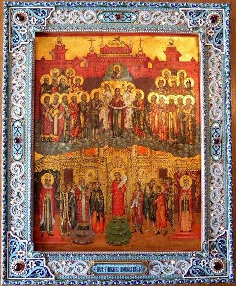 Покров Богородицы икона