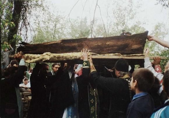 Обретение мощей святителя Николая (Могилевского). Фото: nikolsky.kz
