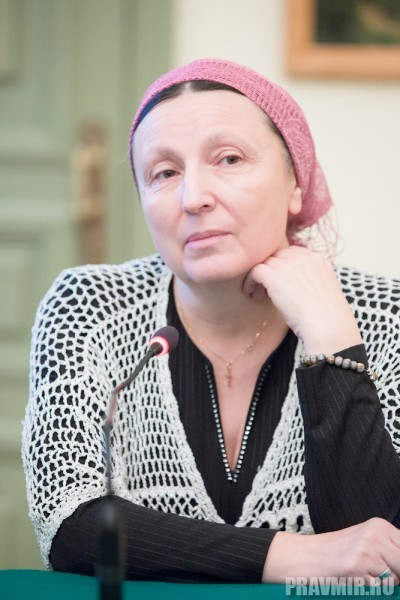 Затем слово было предоставлено матушке Ольге Юревич – одной из героинь книги.