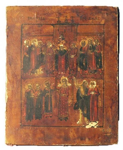 Покров Пресвятой Богородицы икона 8
