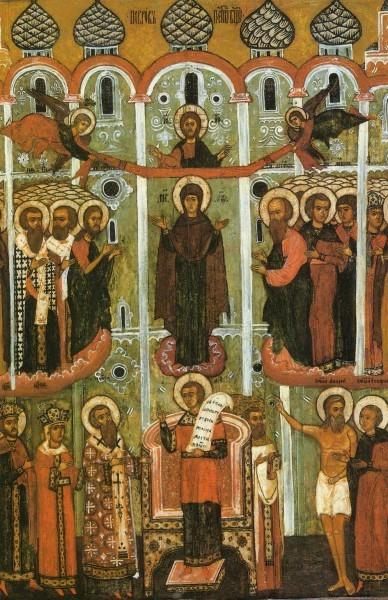 икона Покров Пресвятой Богородицы