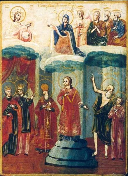 Покров Пресвятой Богородицы икона 9