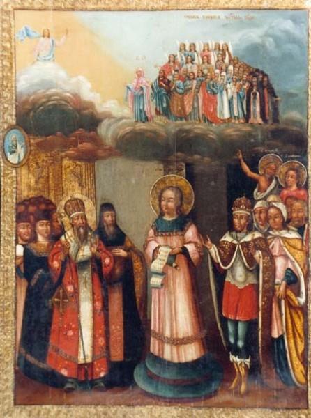 Покров Пресвятой Богородицы. Конец 18 века