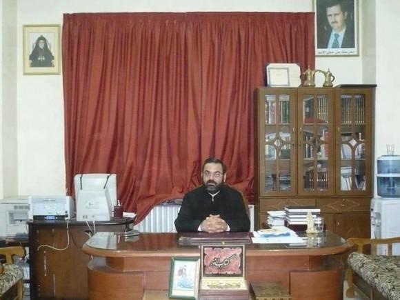 Священник Фади Джамиль Хаддад