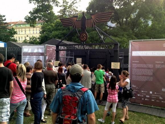 Выставка на Карловой площади Праги