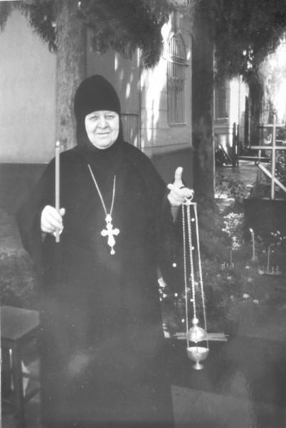 Схимонахиня Серафима (Дьяченко). Фото из архива архимандрита Адама (Ахаладзе)