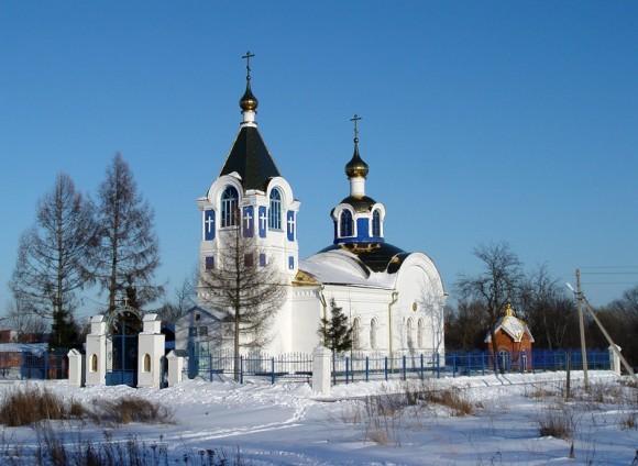 Церковь Михаила Архангела в селе Карпово, где служил священномученик Андрей Вознесенский, temples.ru
